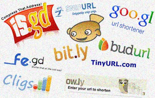 various url shortening services